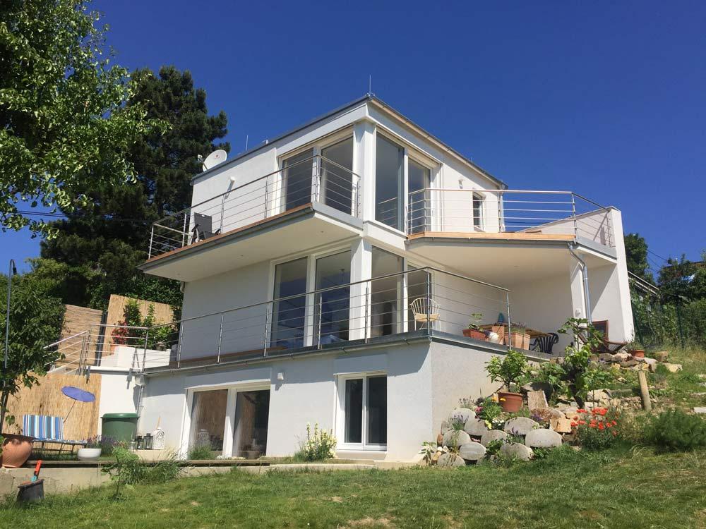 Tromayerbau kleingarten wohnhaus 1190 wien tromayer bau for Wohnhaus bauen